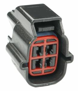 Connectors - 4 Cavities - Connector Experts - Normal Order - CE4044