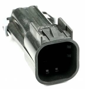 Misc Connectors - 4 Cavities - Connector Experts - Normal Order - Inline Junction Connector - Fan