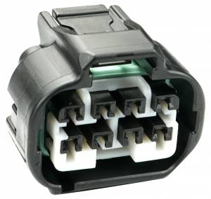 Misc Connectors - 8 Cavities - Connector Experts - Normal Order - Inline - To Front Bumper Harness