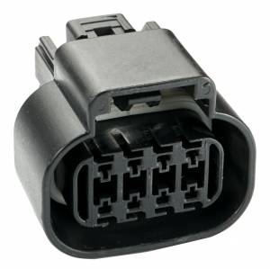 Misc Connectors - 8 Cavities - Connector Experts - Normal Order - Inline - To Front Harness