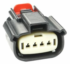 Misc Connectors - 4 Cavities - Connector Experts - Normal Order - Headlight - Low Beam