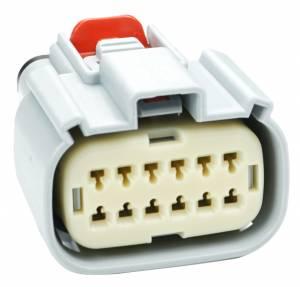 Connectors - 12 Cavities - Connector Experts - Normal Order - CET1224F