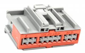 Connectors - 22 Cavities - Connector Experts - Normal Order - CET2238