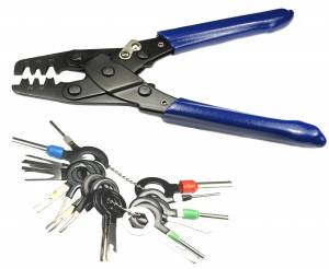 Tools - Connector Experts - Special Order 100 - Terminal Crimper & Release Tool Combo