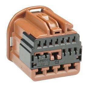 Connectors - 17 Cavities - Connector Experts - Normal Order - CET1710