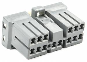Connectors - 14 Cavities - Connector Experts - Normal Order - CET1474