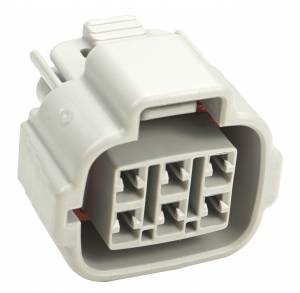 Connectors - 6 Cavities - Connector Experts - Normal Order - CE6002CF